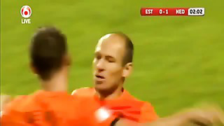 Netherlands vs Estonia 1 2 All Goals and Full Match Highlights 06 09 13