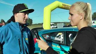 Andreas Bakkerud visits Estonia - after race interview