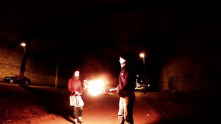 Fire juggling made with _GoPro Studio 2.0