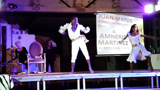 Juan Matos & Amneris, shows @ Tallin Latin Festival 2013