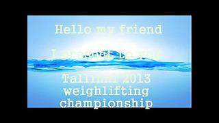 2013 Tallinn weightlifting european championship