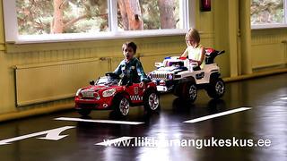 Детский игровой центр трафика - Таллинн, Эстония