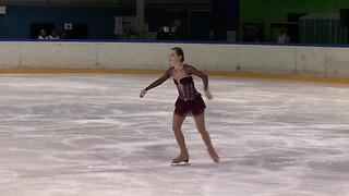15 Aleksandra GOLOVKINA (LTU) - ISU JGP Tallinn Cup 2013 Junior Ladies Free Skating