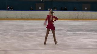4 Eike LANGERBAUR (EST) - ISU JGP Tallinn Cup 2013 Junior Ladies Free Skating