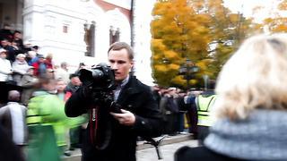 Участники блокады Тоомпеа _ Toompea blokaadi osalejad