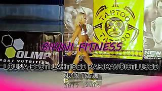 Lõuna Eesti Lahtised Karikavõistlused 2013 Bikini Fitness