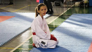 Karate International Tournament Tallinn Open 2013 Kumite girls 9 11 years 35kg