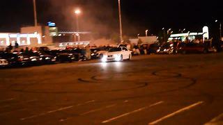 BMW drifting In Tallinn