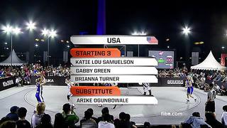 [FULL GAME] Women's Final - USA vs Estonia - 2013 FIBA #3x3U18 Jakarta