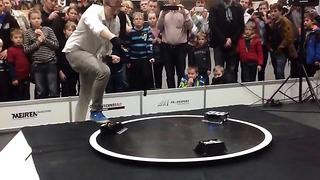 Robotex 2013 in Estonia 3kg sumo