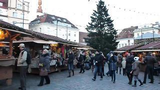 Tallinn. Рождественский рынок на Ратушной площади