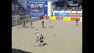 Beach soccer HELLAS - ESTONIA PART 3 3 - 0