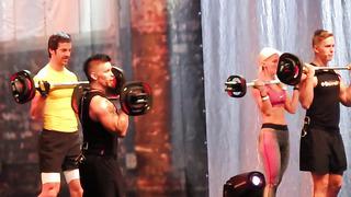 BodyPump! Les Mills Fitness Explosion Estonia 2013