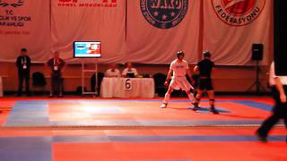 Mario Nani Campionati Mondiali Kickboxing Wako 2013 KL-74 Italia-Estonia Seconda Ripresa