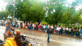 Narva Bike 2013 motoparade