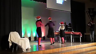 Tartu Tamme Gümnaasiumi jõulupidu 2013 6.A