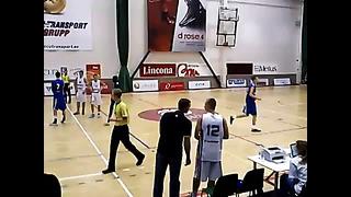 BSBC Tallinn Estonia U18 vs Sweden U18 Artur Arhangelski #12