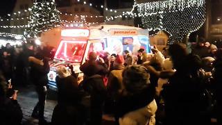 Good Bye Santa. Old Tallinn 03.01.14