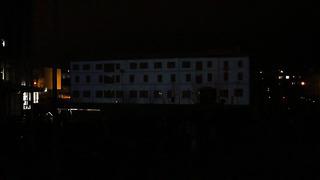 Videoprojektsioon Pärnu Muuseumil