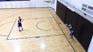 Eesti U14 - Kungsholmen Basket 45-44 . 05.01.2014