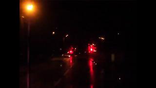 Vihmane jaanuar 2014. Tallinn öösel. Nõmme- Mustamäe- Õismäe trip