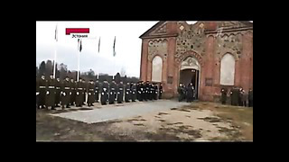 2014 Новости дня - Эстония. Торжественные похороны эсэсовца