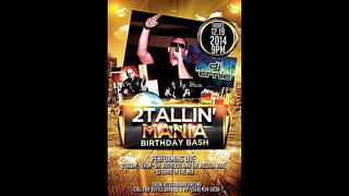 2 Tallin Mania Birthday Bash @ The Standard (Official Video)