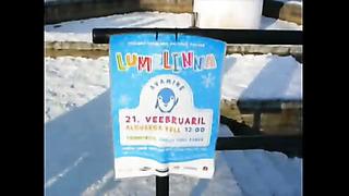 Snow sculptures in Tallinn 21st Feb 20091736