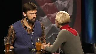 Jüri Üdi klubi_ Erki Laur ja Tiina Tauraite - katkend lavastusest _Life Is Very Hard