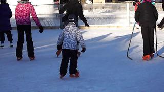 Skating in Tallinn