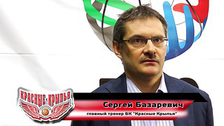 КК - _Тарту Рок__ после матча. Сергей Базаревич
