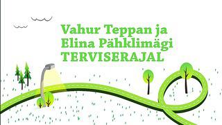 Elina ja Vahur - Uisutehnika harjutused.