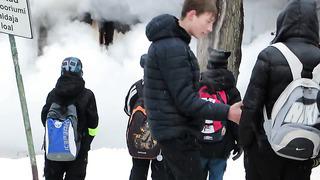 Narva Energia Turg (Пожар в Нарве на Энергии часть2)