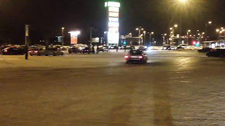 Ülemiste DRIFT-SHOW 23.01.2014 (Estonia, Tallinn)