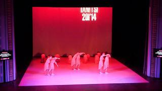 Error Tantsukool- Kirsiõite unistus, noored II koolitants 2014