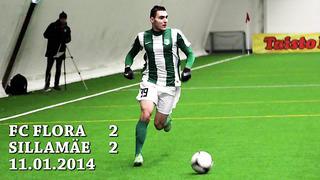 Kontrollmäng FC Flora - Sillamäe Kalev 2_2 (1_0)