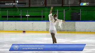Larisa Kazmina JunaCup 2014 Tallinn Silver