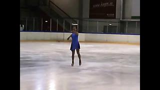 Larisa Kazmina Free Skating Silver 2