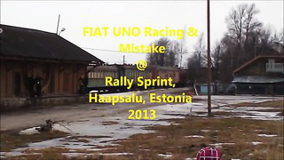 FIAT UNO Racing & Mistake @ Rally Sprint Haapsalu, Estonia 2013