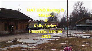 FIAT UNO Racing & Mistake @ Rally Sprint Haapsalu, Estonia 2013[1]