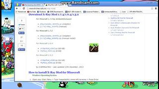 Minecraft Kuidas downloadida x-ray EESTI KEELES
