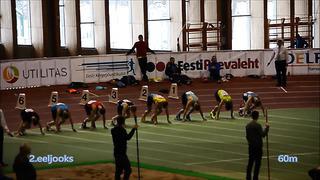 Eesti Noorsoo ja Juunioride talvised MV 2014 - MN 60m