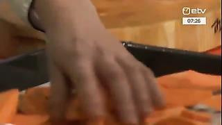 Vürtsikas bataadi-kookospiima püreesupp ja bataadi-õlleküpsised juustuga