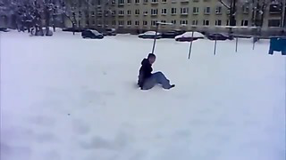 Winter Freerunning Estonia 2014