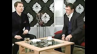 Александр Литвин на канале TVN Эстония.