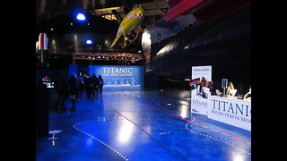Titanic exhibition in Tallinn, Eesti