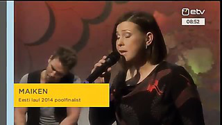 Eurovision 2014 Estonia_ MAIKEN - Siin või sealpool maad (Eesti Laul 2014 - First Performance)