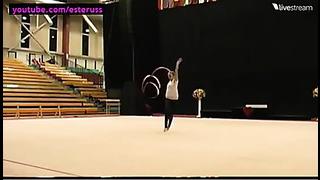 Marina Durunda Ribbon Training Tartu 2014