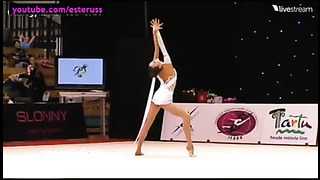 Viktoriia Mazur Ribbon Final Tartu Cup 2014