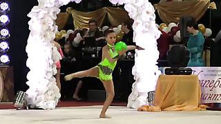 Bitkova Jana, born 2003, ball, Tallin Estonia, coach Ratsejeva N. Tjomuskina J.